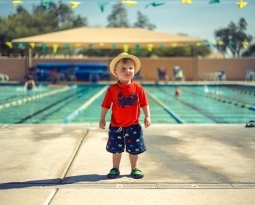 The mental benefits of swimming for children